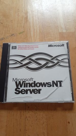 Windows NT server Software full install for Sale in Hopewell, VA