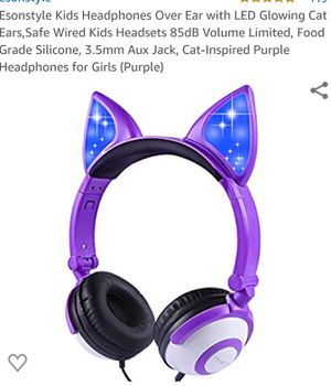 Brand New Kids Light Up Cat Ears Headset for Sale in Buffalo, NY