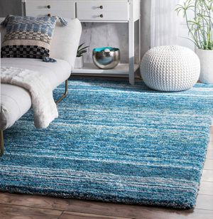 nuLOOM Classie Solid Shag Rug, 8' x 10', Sky Blue BRAND NEW for Sale in Glendale, AZ