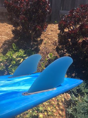 Brand new twin keel fins, futures base for Sale in San Diego, CA