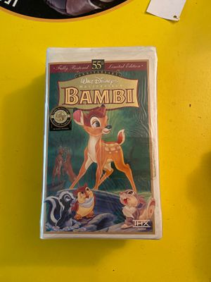 Bambi vhs for Sale in Everett, WA