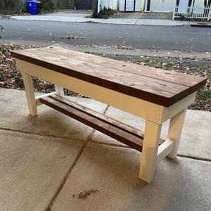 Farmhouse Entryway bench for Sale in Alexandria, VA