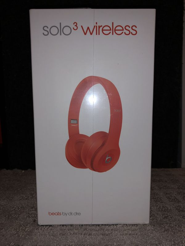 Beats Solo 3 Special Edition Red