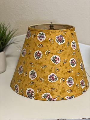 Darling Yellow lamp shade for Sale in Tacoma, WA