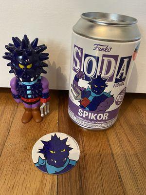 NYCC 2020 Funko Vinyl Soda - Spikor MOTU (Toy Tokyo Limited Edition Sticker) for Sale in Seattle, WA