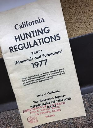 1977 regulations pamphlet for Sale in Fontana, CA