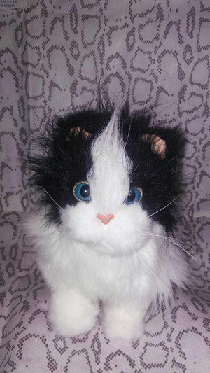 Furreal friends lulu's walkin talkin' black white plush 2010 for Sale in North Olmsted, OH