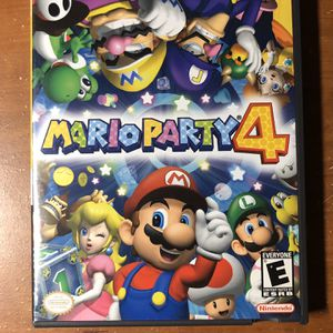 Mario Party 4 (Nintendo GameCube, 2002) * 100% COMPLETE CIB ** GEM MINT!!! ** for Sale in Brooklyn, NY