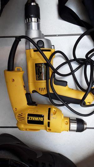 Dewalt hammer drill (dw 236) and dewalt compact drill (dw106) both corded for Sale in Portland, OR