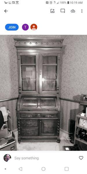 Antique Victorian burled walnut Eastlake Desk for Sale in Reynoldsburg, OH