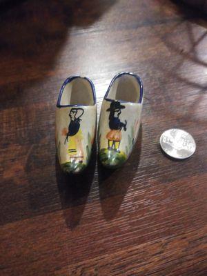 Quimper vintage hand painted porcelain clogs for Sale in Baton Rouge, LA