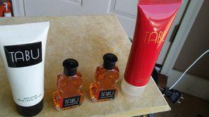 Unused Tabu perfume and lotion for Sale in Millbrook, AL