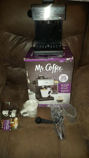Mr coffee espresso maker for Sale in Knoxville, TN