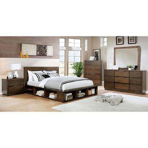 BROWN 4PC QUEEN BEDROOM SET😍 ON SALE😱 for Sale in Bakersfield, CA