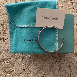 Tiffany1837 Titanium Cuff In Galaxy sterling Silver for Sale in Miami, FL