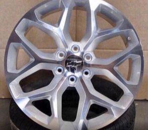 """GMC Chevrolet Replica Wheels Rims Black Machine - Gloss Black - Machine Silver Brand New In Box 24"""" Inch ...$ 1099 (Wheels Only) 26"""" Inch ...$1199 for Sale in La Habra, CA"""