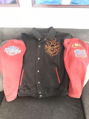 Custom Motorcycle Enthusiasts Denim Jacket for Sale in San Gabriel, CA