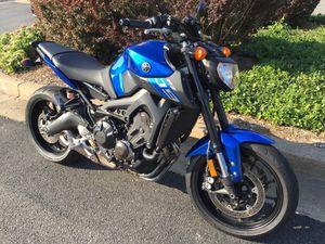 2016 Yamaha FZ-09 - Hard to Find! for Sale in Falls Church, VA