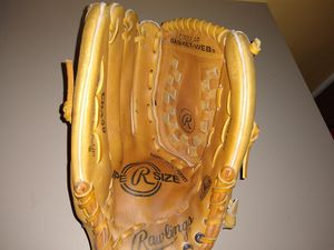 Rawlings SuperSize Fastback Leather ,Baseball Softball Glove 13.5 Inch LEFT Handed Thrower NICE for Sale in Los Angeles, CA