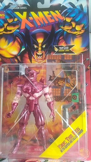 X-Men collectible Erik the Red with super metallic armor for Sale in Chicago, IL
