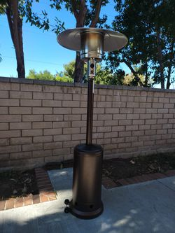 Outdoor Patio Heater - Outdoor Heaters for Patio Propane Bronze Stainless Steel -$129 for Sale in West Covina,  CA