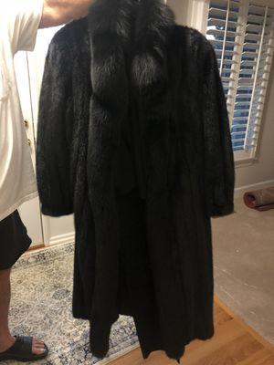 Black Mink Floor Length Coat for Sale in Murfreesboro, TN