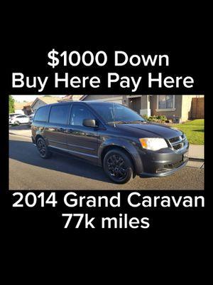 2014 Dodge Grand Caravan 77k miles buy here pay here for Sale in Mesa, AZ