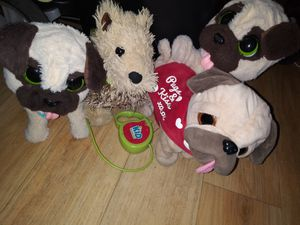 4 Robotic Battery operated Stuffed Animal Toys for Sale in Honolulu, HI
