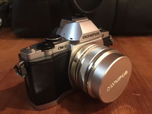 Olympus OM-D E-M5 Digital Camera W/17mm lens & accessories Great Shape for Sale in Portland, OR