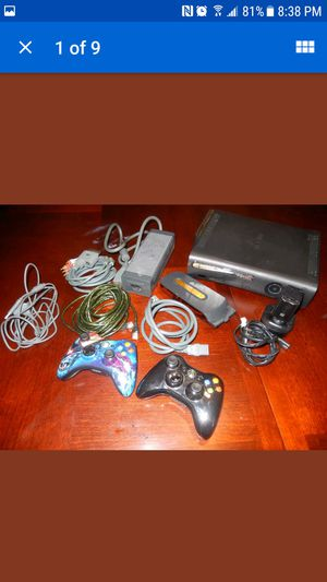 Xbox 360 Bundle 2 Hard Drives 45 Games for Sale in Concord, MA