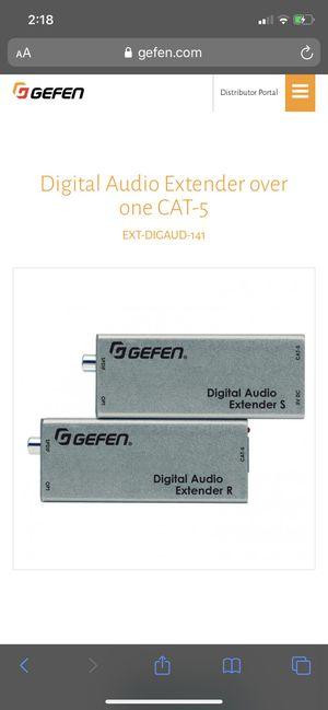 Gefen digital audio extenders new for Sale in Lancaster, CA