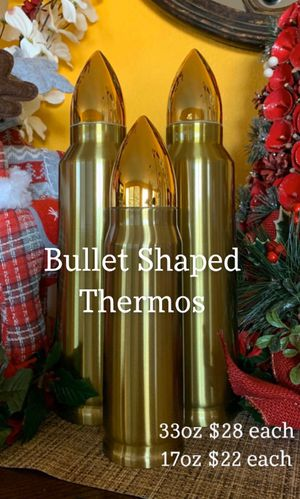 Realistic Bullet Shaped Coffee Thermos-Water Bottle for Sale in San Diego, CA