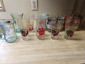 12 collectable Coke glasses for Sale in Sultan, WA