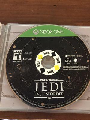 Jedi Fallen Order - XBOX ONE for Sale in Keller, TX
