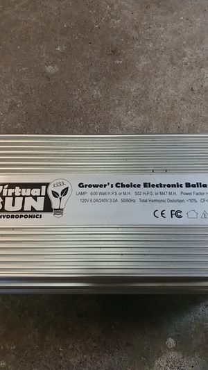 600 watt ballast for Sale in Tacoma, WA