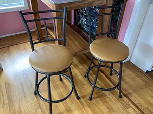 Two bar stools for Sale in Houston, TX