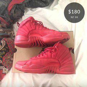 "Jordan ""gym red"" 12s for Sale in Davenport, FL"