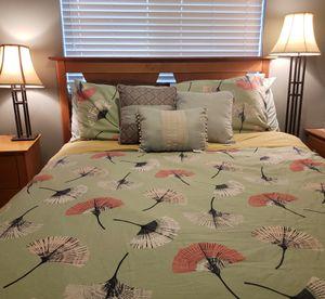 Pine Queen Bedroom Set from Macy's for Sale in Fife, WA