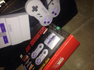 Super Nintendo classic edition with 49 Games installed snes for Sale in Houston, TX