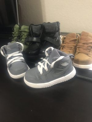 Jordan, Timbaland, Polo boots kid's sizes for Sale in Mesquite, TX