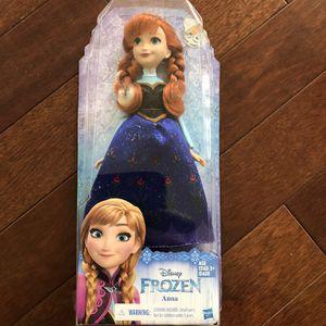 "Hasbro Disney Frozen Anna 12"" Doll for Sale in South Harrison Township, NJ"