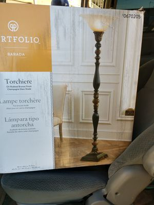Portfolio torchiere for Sale in Spartanburg, SC