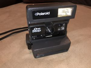 Vintage Polaroid One Step Instant 600 Film Camera With Strap Untested for Sale in Goose Creek, SC