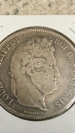 1836 silver 5 franc 40.00 for Sale in Clovis, CA