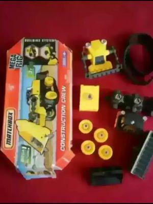 Matchbox Mega Rig Construction set for Sale in League City, TX