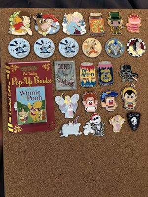 Disney pins (READ DESCRIPTION) for Sale in La Puente, CA