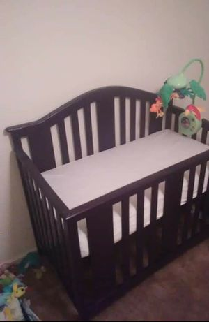 Hard wood baby crib for Sale in Fairfax, VA