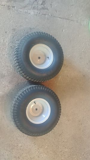 Back Riding mower tires for Sale in Hannibal, MO