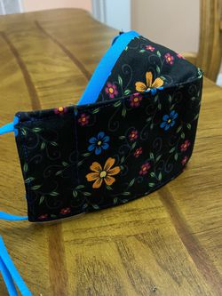 3d Adjustable Face Mask. Two Layers of 100% Cotton fabric + 1 layer of Polypropylene for Sale in Riverview,  FL