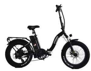 """P128 - Fat Tire Folding Aluminum 20"""" Electric Bike in 3 Colors (Easy Step Through) Frame - Brand New for Sale in Industry, CA"""
